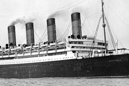 RMS Aquitania in 194