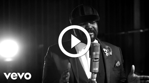 Play Gregory Porter - Take Me To The Alley (1 mic 1 take)