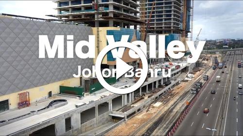 Play Mid Valley Johor Bahru - Progress as Feb 2019