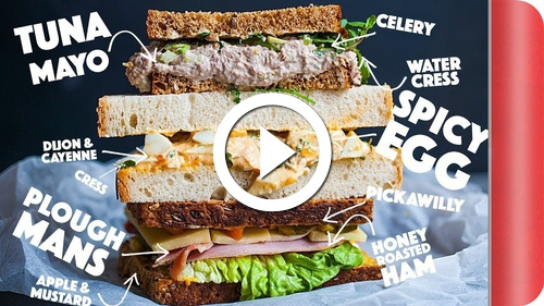 Play 3 First Class Sandwich Fillings To Make Lunch Great Again