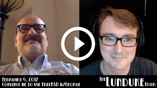 Play 'Convincing a Linux guy to use FreeBSD' - Lunduke Hour - Feb 9, 2017