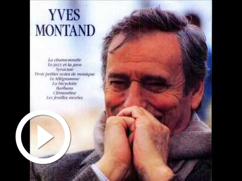 Play Yves Montand - Le jazz et le java