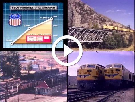 Watch Union Pacific Turbines of the Wasatch
