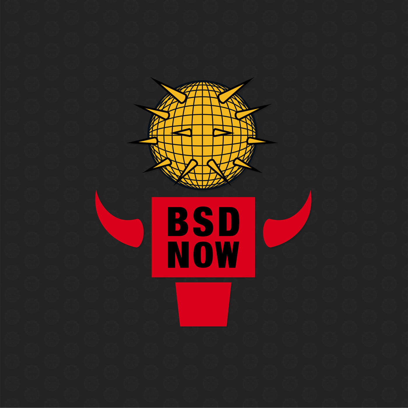 The BSD Now logo