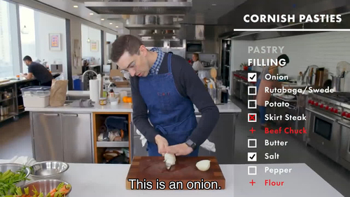 Chris: This is an onion.