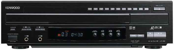 The Kenwood LVD-290 Laserdisc player