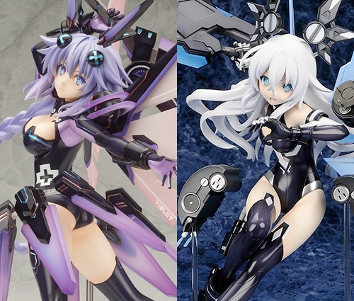 Purple Heart (left) and Black Heart (right)