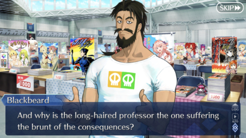 And why is the long-haired professor the one suffering the brunt of the consequences?
