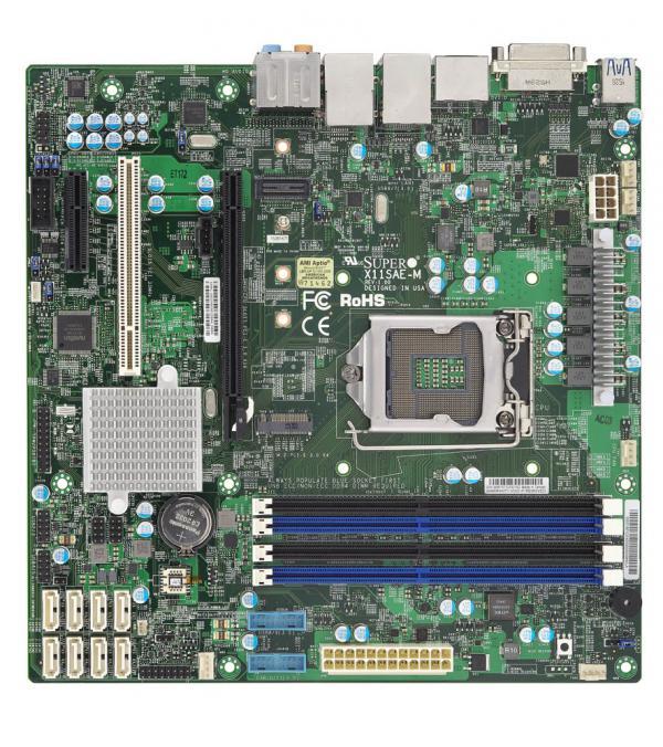Supermicro X11SAE-M board