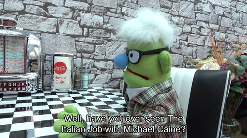 Well, have you ever seen The Italian Job with Michael Caine?