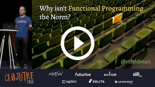 Play Why Isn't Functional Programming the Norm? – Richard Feldman