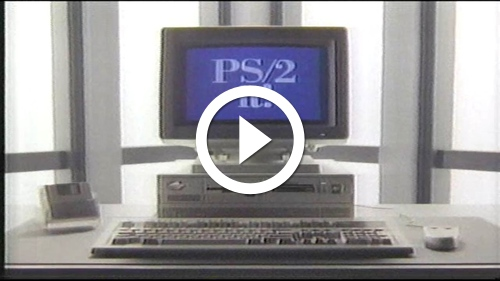 Play IBM Personal System 2 PS/2 Computer Commercial (1989)