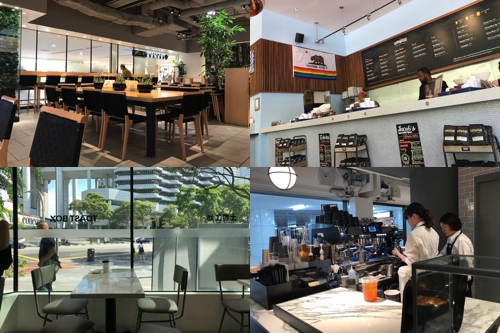 Some of the coffee shops featured below!