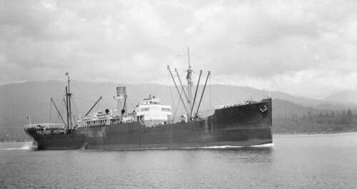 Photo of the SS Golden Eagle in 1932.