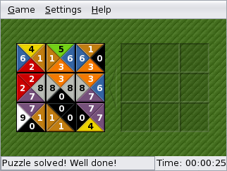 Sudoku puzzle for 2010-11-21