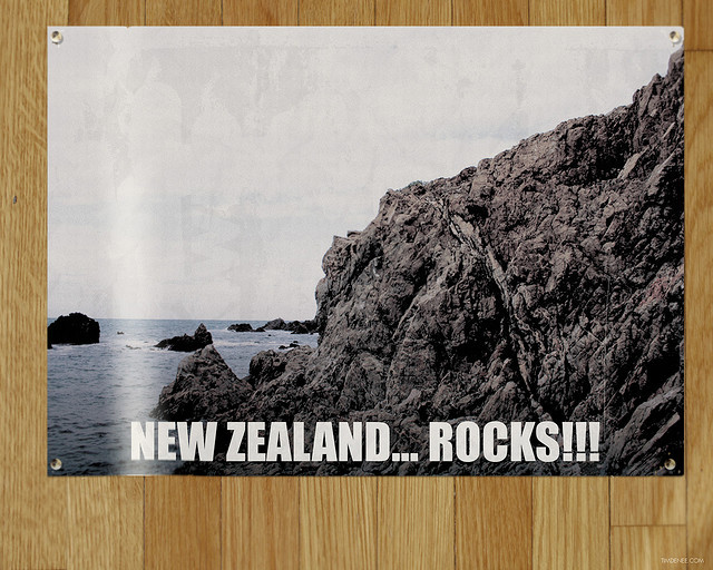 New Zealand... rocks!