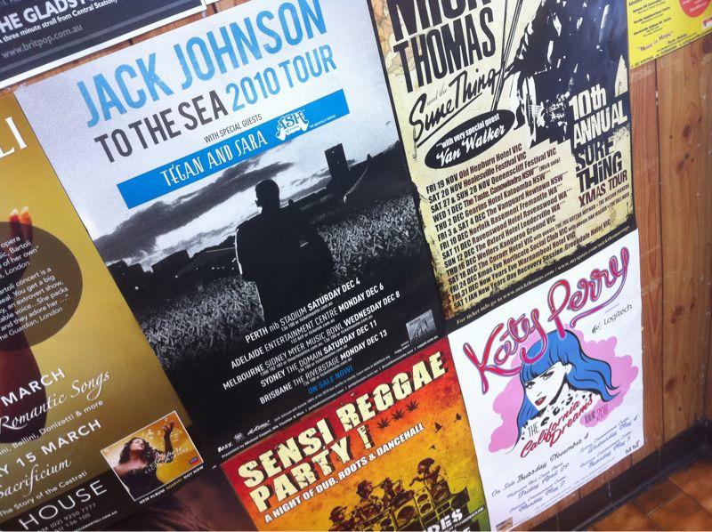 Jack Johnson tour poster