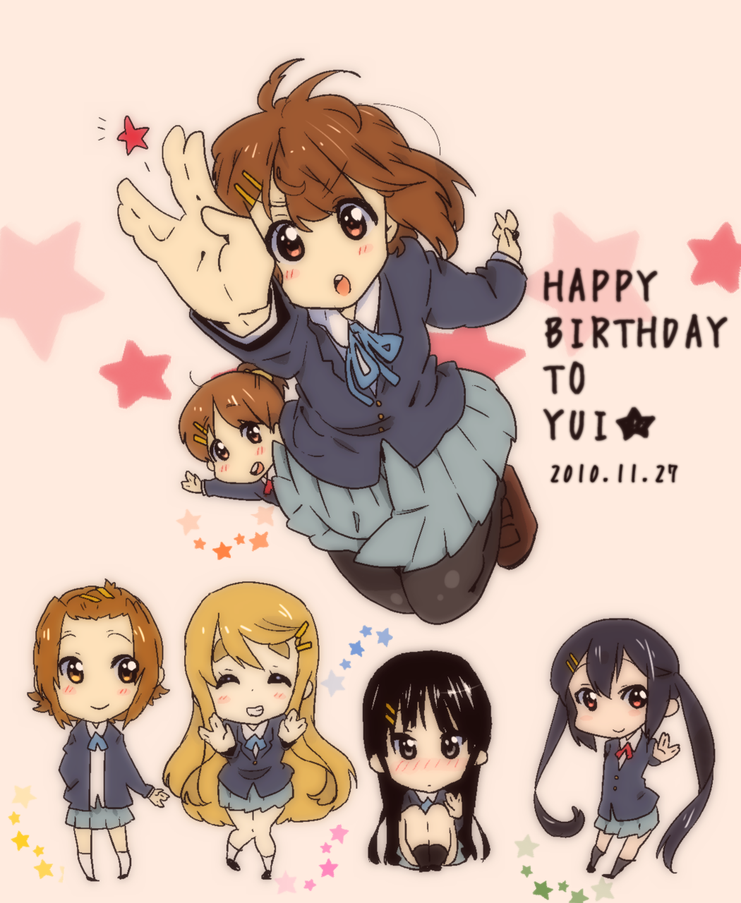 Happy Birthday Yui!