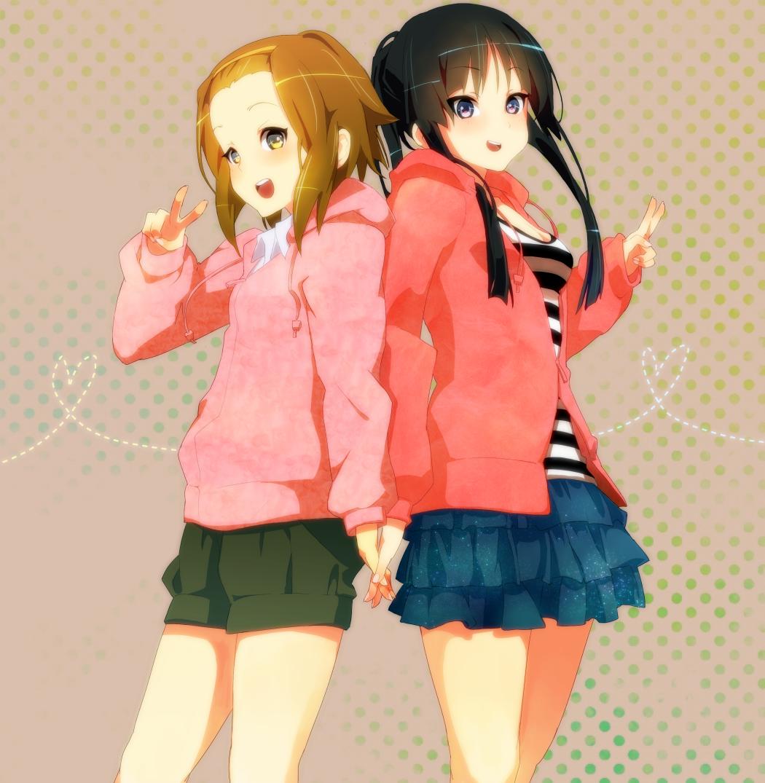 Ritsu and Mio