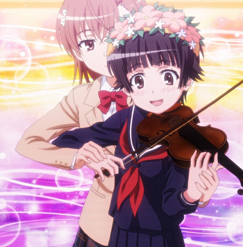 Violin lessons from Railgun