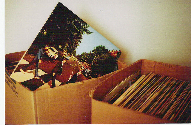 Photo of the Abbey Road LP in a box
