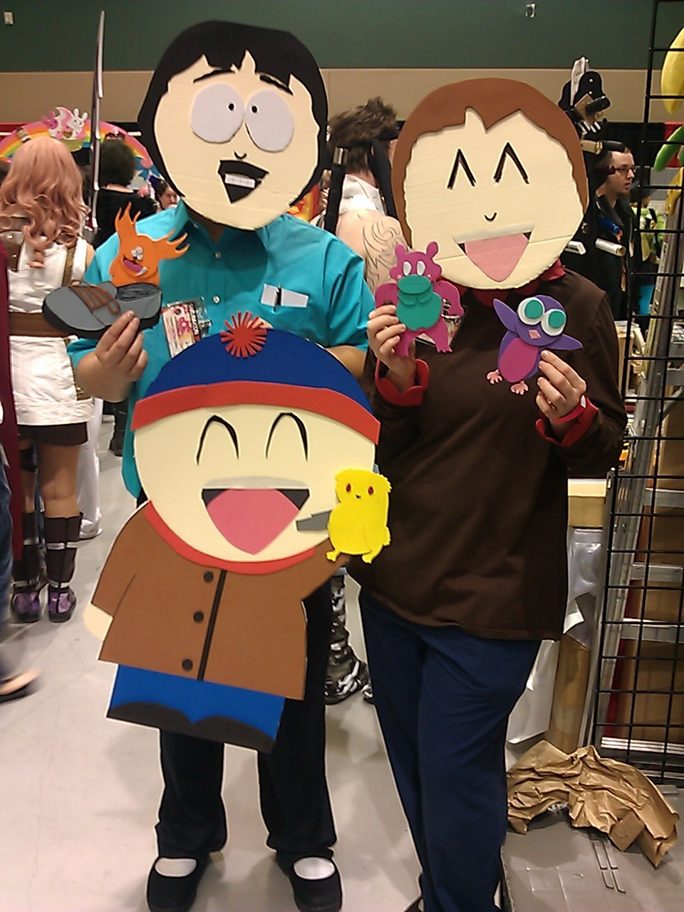 Epic South Park cutout cosplay