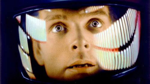 That famous shot from 2001: A Space Odyssey