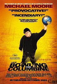 Bowling for Columbine promotional poster