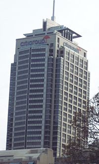 Citigroup Centre in Sydney by User:Paulscf on Wikipedia