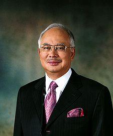 Photo of Najib Razak