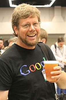 Guido van Rossum at OSCON 2006, by Doc Searls