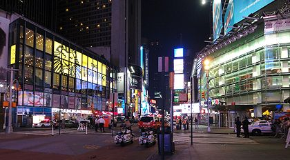 Times Square closed due to bomb scare, photo by Iogi on Flickr