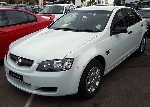 The Holden Commodore Omega
