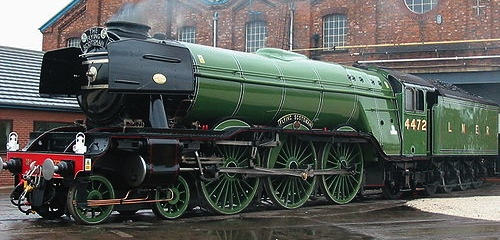 The Flying Scotsman!