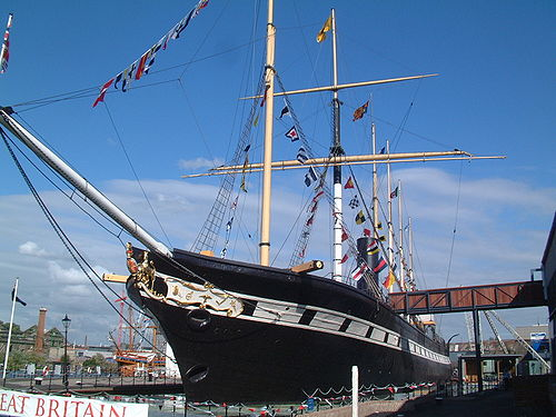 The SS Great Britain, photo by Matt Buck