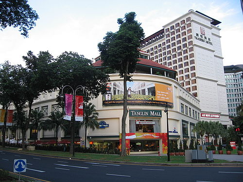 Tanglin Mall in Singapore, sans Christmas decorations by User:Sengkang. Will be uploading my dad's and my Christmas photos soon!