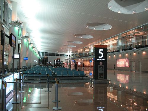 Yerevan's spiffy new Zvartnots Airport