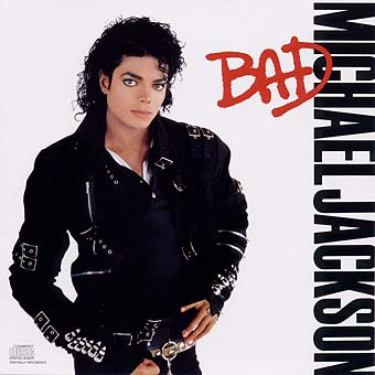 Cover from Michael Jackson's Bad album
