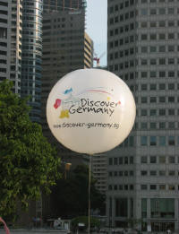 Photo of the Discover Germany balloon in Singapore