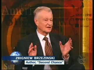 Zbigniew Brzezinski's on The Daily Show in 2007