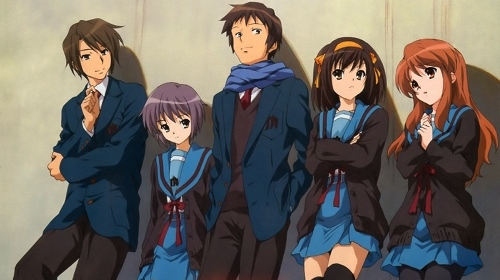 The Haruhi movie poster