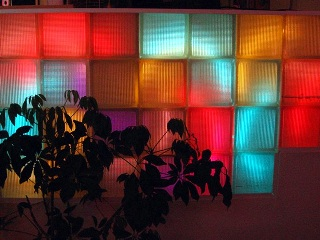 Atlantic Neon colour glass cubes