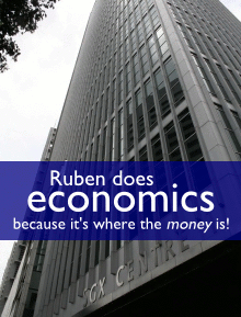 Ruben does economics