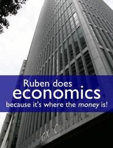 Ruben does economics