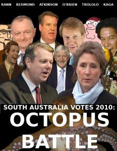 Edible_Hat's SA Votes 2010: Octopus Battle image