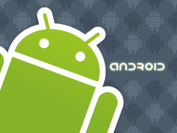 Android's creepy logo.