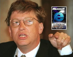 Bill Gates Internet Explorer
