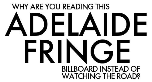 Adelaide Fringe poster design