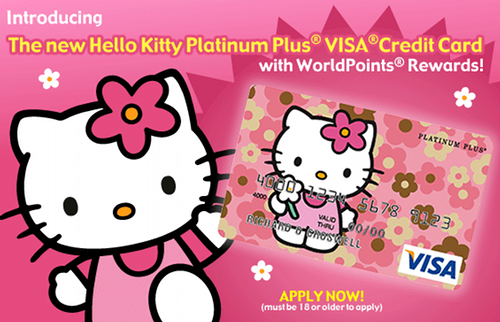The Hello Kitty… credit card?