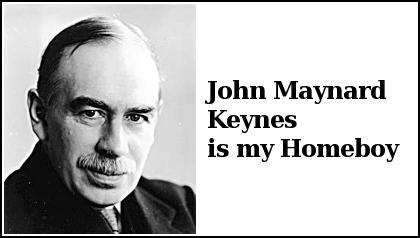 Keynes is my Homeboy!